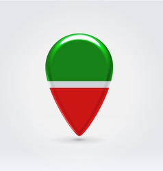 Tatarstan icon point for map vector image