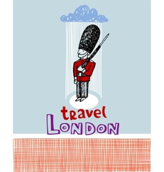 Travel London vector image