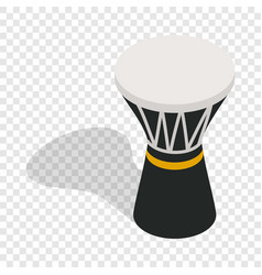darbuka percussive musical instrument isometric vector image