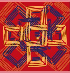 Geometric retungle print vector