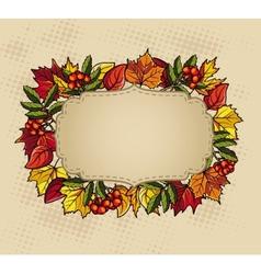 Thanksgiving baner vector image