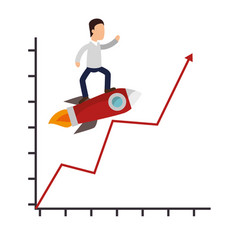 business people with training icon vector image