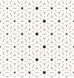 Abstract minimal seamless geometrical pattern vector image vector image