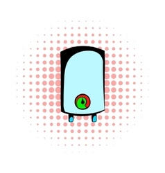 Boiler comics icon vector