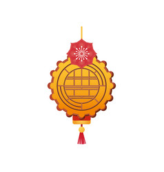 Chinese element classic golden chinese ornament vector