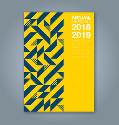 Cover annual report 1197 vector