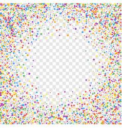 Festive confetti celebration stars joyous confet vector