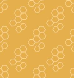 Honey Meadows seamless pattern vector
