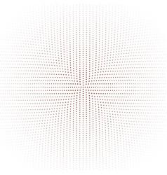 Monochrome circular dot pattern background vector