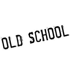 Old school stamp vector image