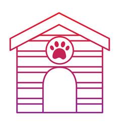 Pet house icon image bird tropical icon ima vector