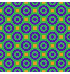 Polka dot geometric seamless pattern 5707 vector