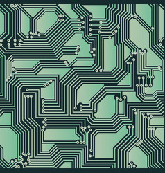 Seamless backdrop of electrical circuit board vector