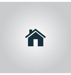 Small house vector image vector image