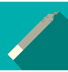 spliff icon flat style vector image