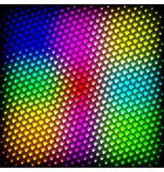 Abstract spectrum dark background with colored vector image