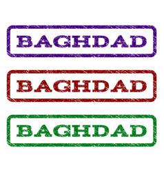 Baghdad watermark stamp vector