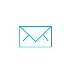 business letter linear icon concept business vector image
