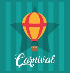Carnival festival cartoons vector
