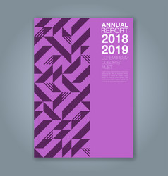 Cover annual report 1202 vector