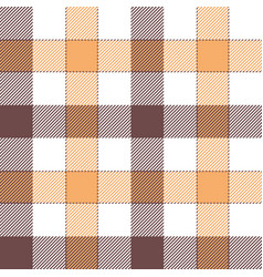 Gingham check plaid pattern vector
