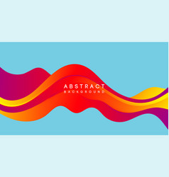 Moving colorful abstract background dynamic vector