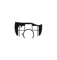 old camera logo design inspiration vector image