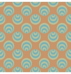 Polka dot and circle geometric seamless pattern 59 vector image