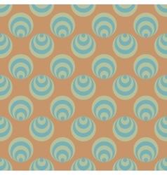 Polka dot and circle geometric seamless pattern 59 vector