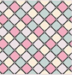 seamless geometric pattern simple ornament vector image