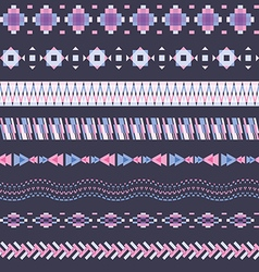 seamless pattern in modern style vector image