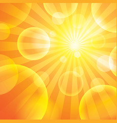 Sun light vector