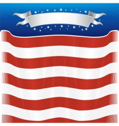 American template vector image vector image