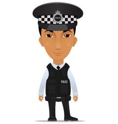 police officer uk vector image