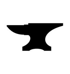 Anvil silhouette vector