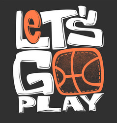Basketball t-shirt graphics print design vector