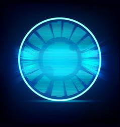 beam eye vector image