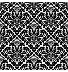 Bold damask seamless pattern vector