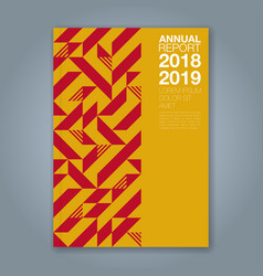 Cover annual report 1207 vector