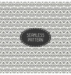 geometric seamless retro pattern with vector image