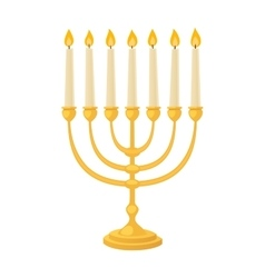 Jew candle vector image