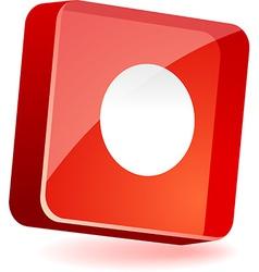 Rec Icon vector