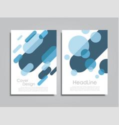 design brochure layout vector image vector image