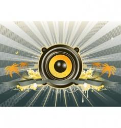 music scene vector image
