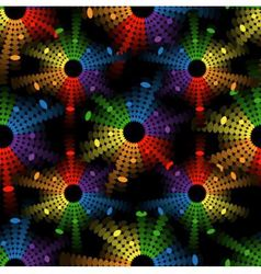seamless abstract pattern with colored circles-equ vector image