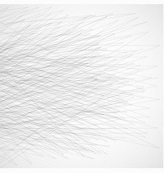 abstract geometric lines on white background vector image