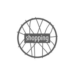 Logo shop vector