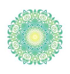 Mandala ornament Vintage decorative elements vector