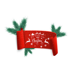 merry christmas and happy new year christmas sale vector image