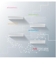 shelf infographic vector image